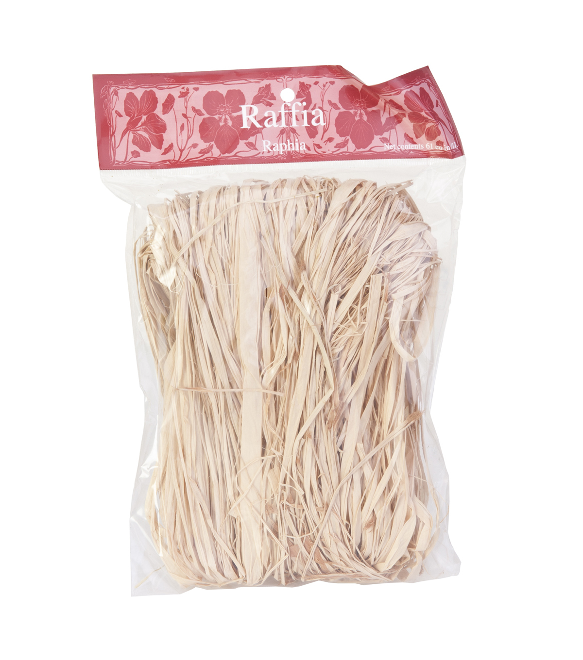 Panacea Products Natural Raffia-60 cu in