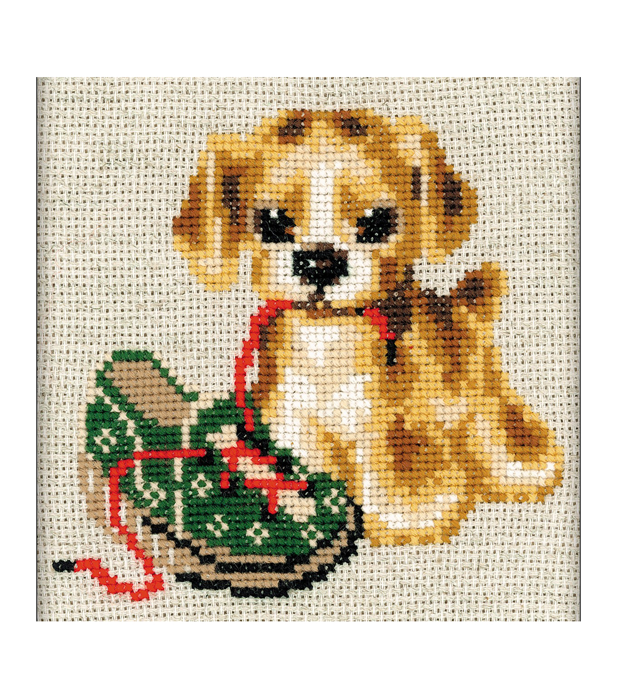 RIOLIS 6\u0027\u0027x6\u0027\u0027 14-count Counted Cross Stitch Kit-Naughty Child