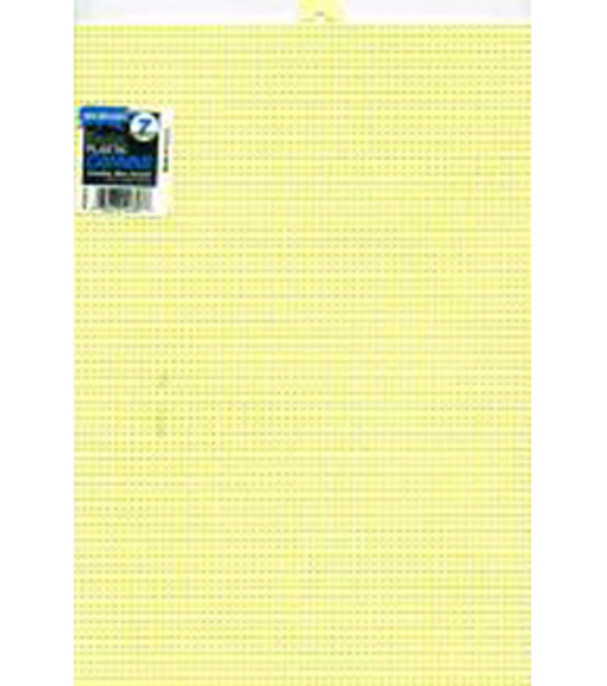 Plastic Canvas 7 Count 10\u0022X13\u0022-Yellow