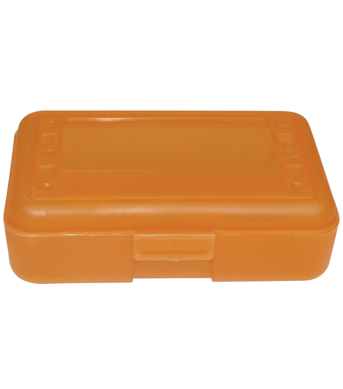 Romanoff Products Pencil Box, Pack of 12, Tangerine