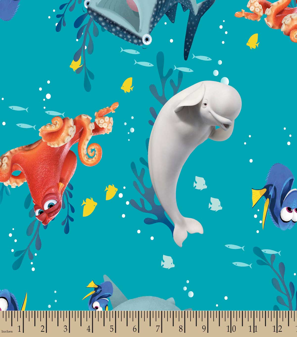 Disney Finding Dory & Friends Print Fabric