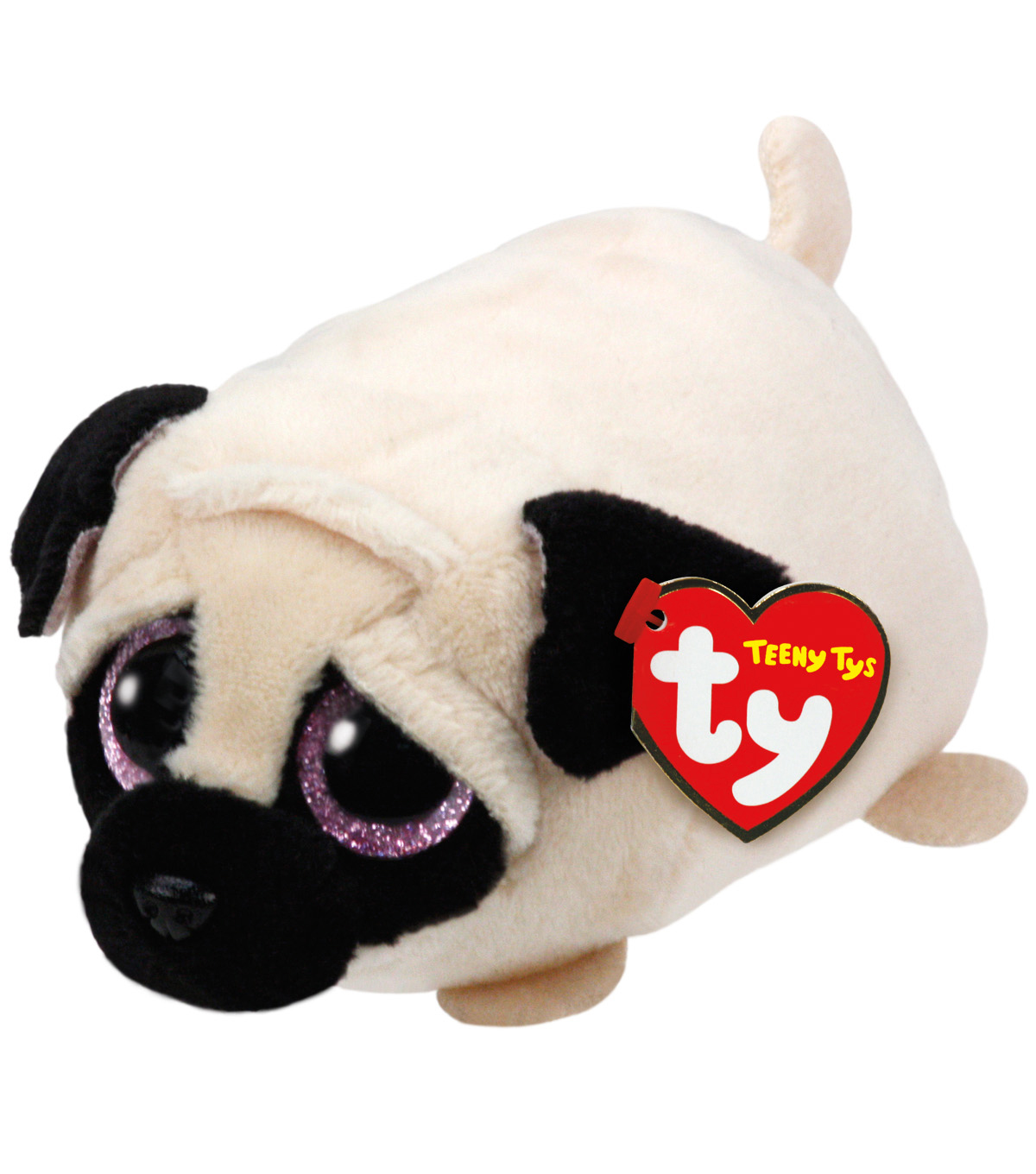 Ty Teeny Tys Candy Pug-Tan