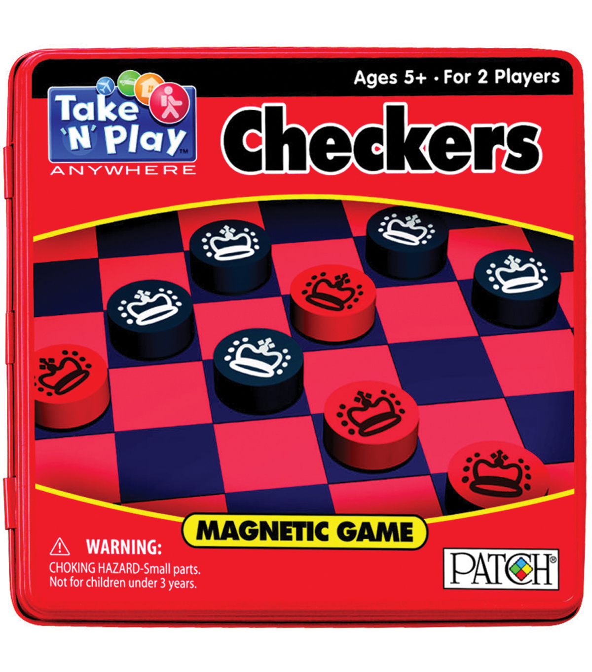 Take N Play Anywhere Game Tin-Checkers