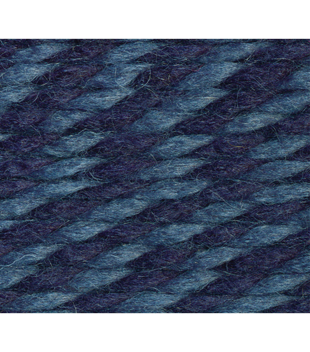Lion Brand Wool-Ease Thick And Quick Yarn, Denim Twist