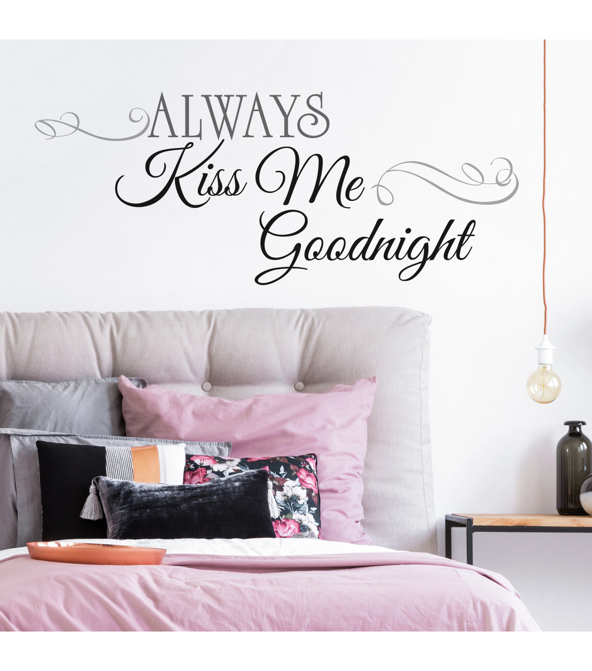 York Wallcoverings Wall Decals-Always Kiss Me Goodnight