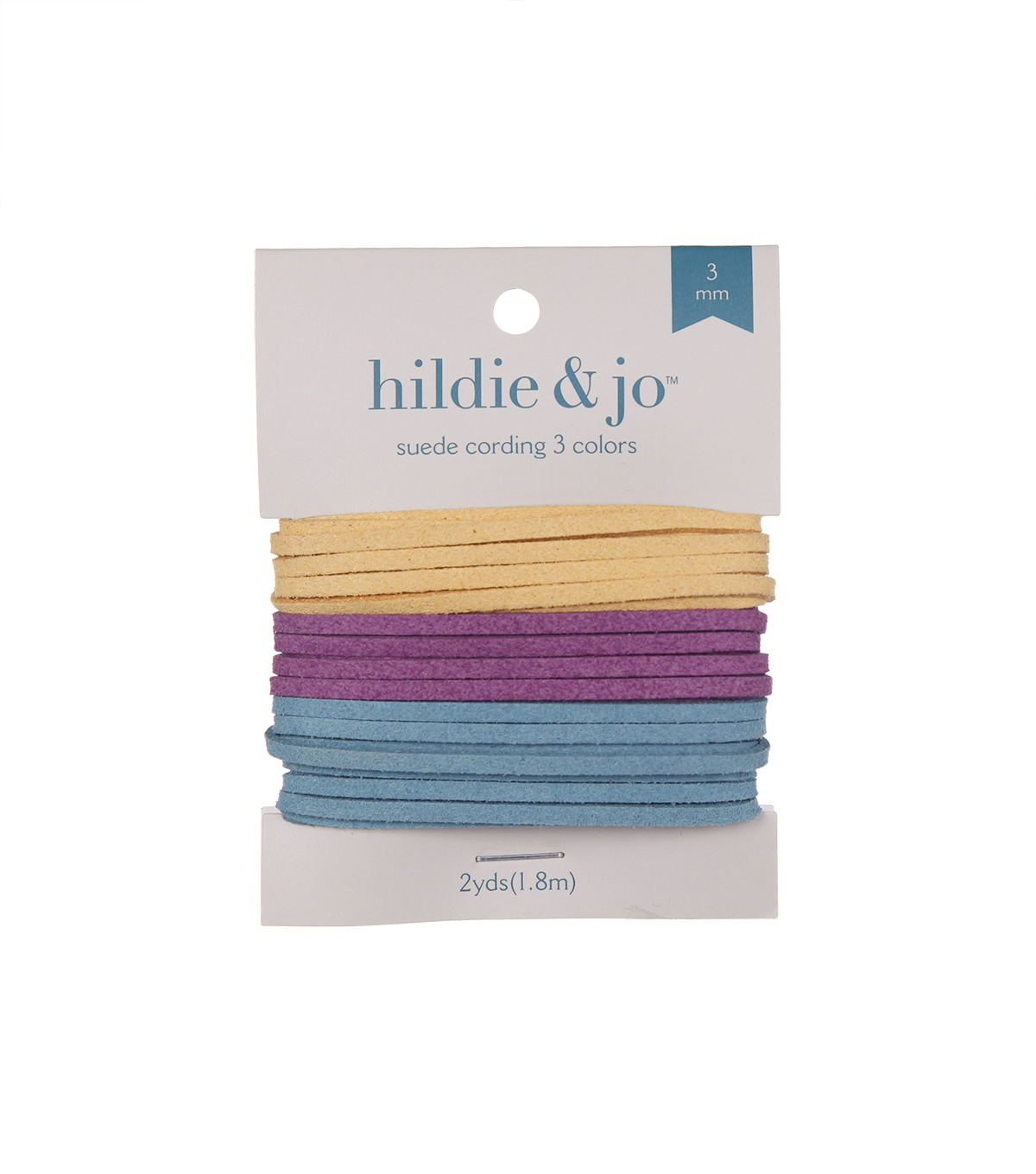 Jewelry Fundamentals Cords&More Suede Cord Variety Pack-Painted Desert