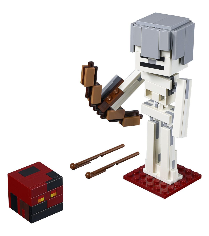 LEGO Minecraft Skeleton BigFig with Magma Cube Set