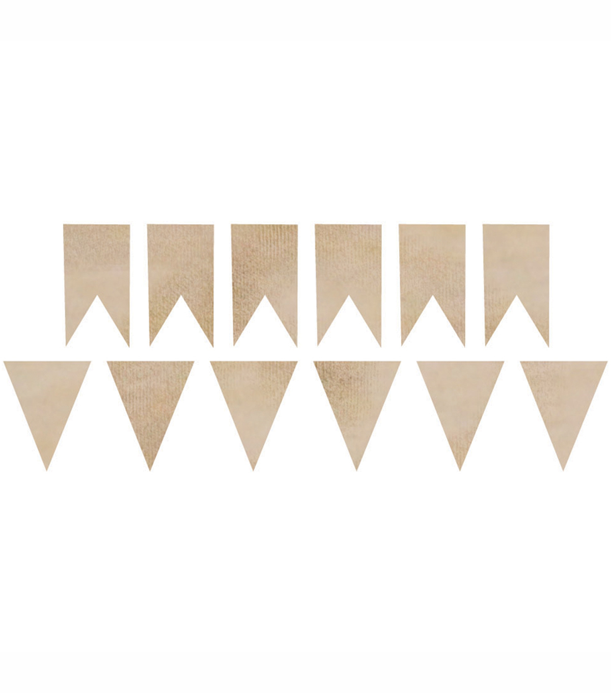 Pennants -Wood Flourishes