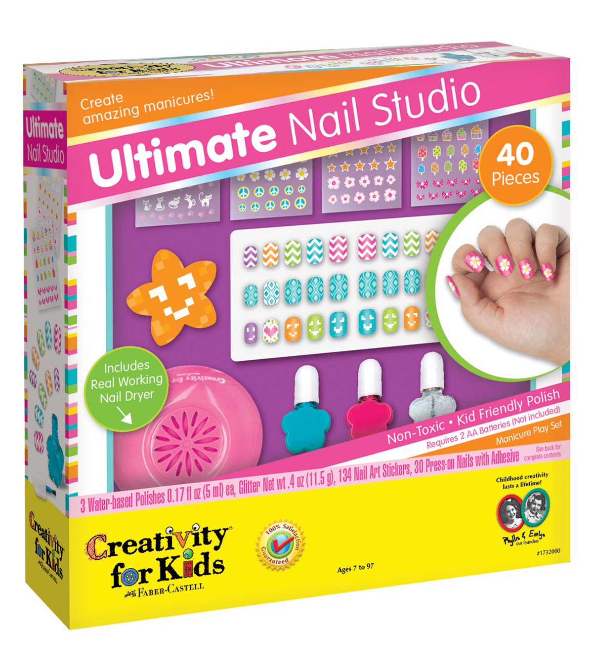 Creativity For Kids Kit Ultimate Nail Studio Joann
