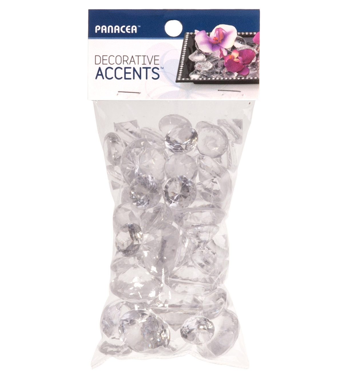 Panacea 7oz Clear Icicle Mix Diamonds