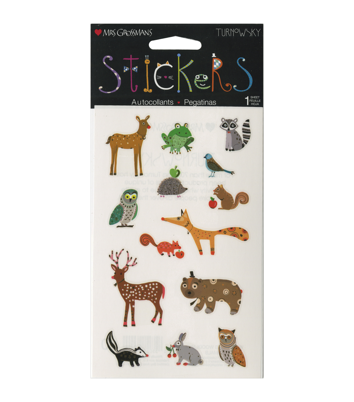 Mrs. Grossman\u0027s Wondrous Woodland Animals Stickers