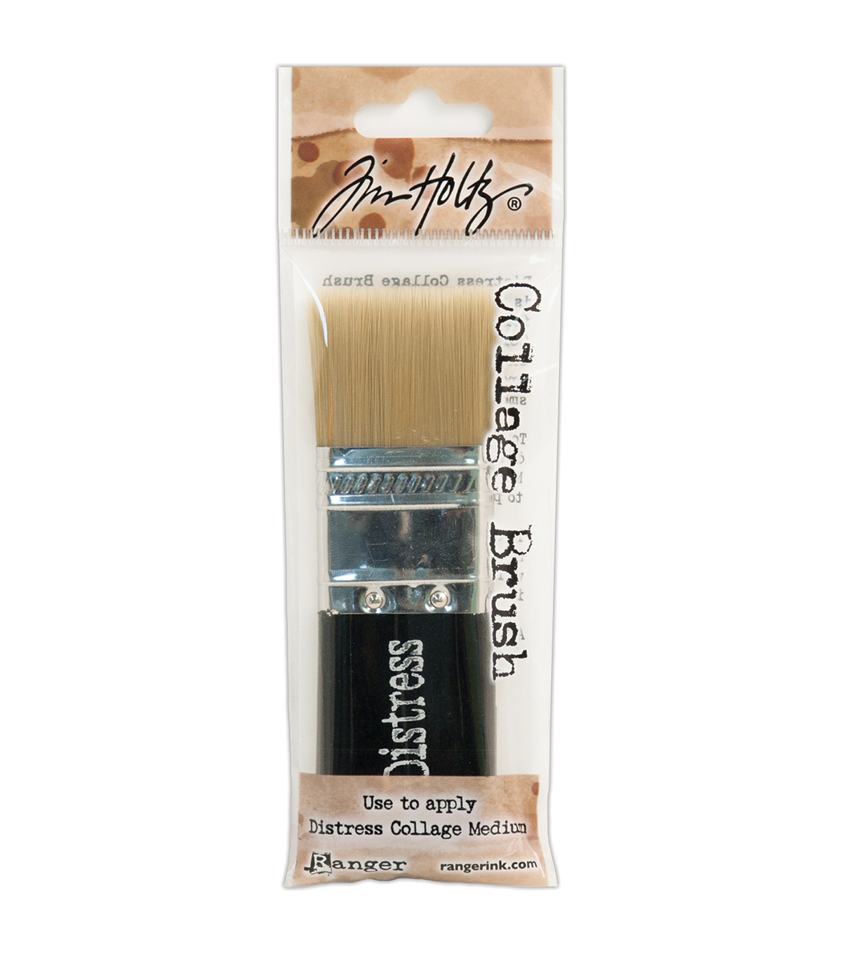 Tim Holtz Distress Collage Brush-1-1/4\u0022