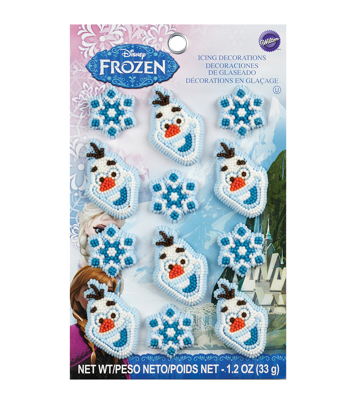 Wilton Royal Icing Frozen Decorations