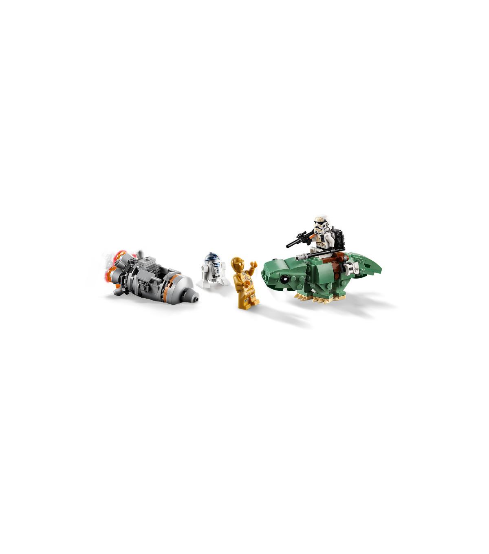 Dewback 75228 Escape Pod vs Lego Star Wars Microfighters
