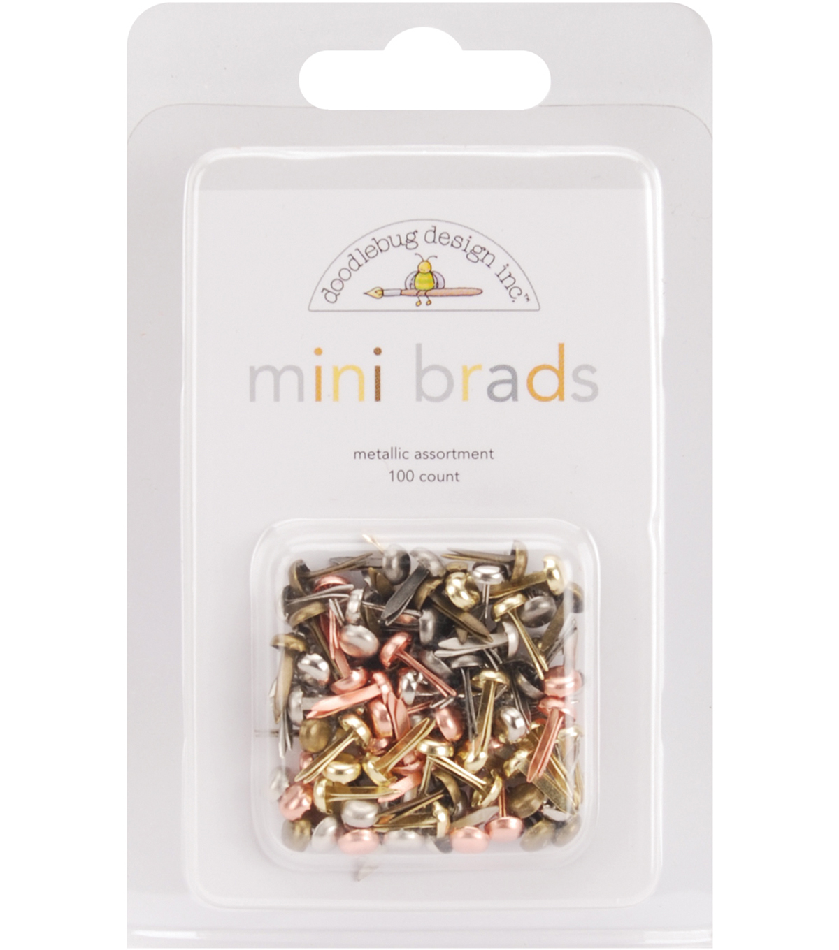 Mini Brad Multipacks 100/Pkg