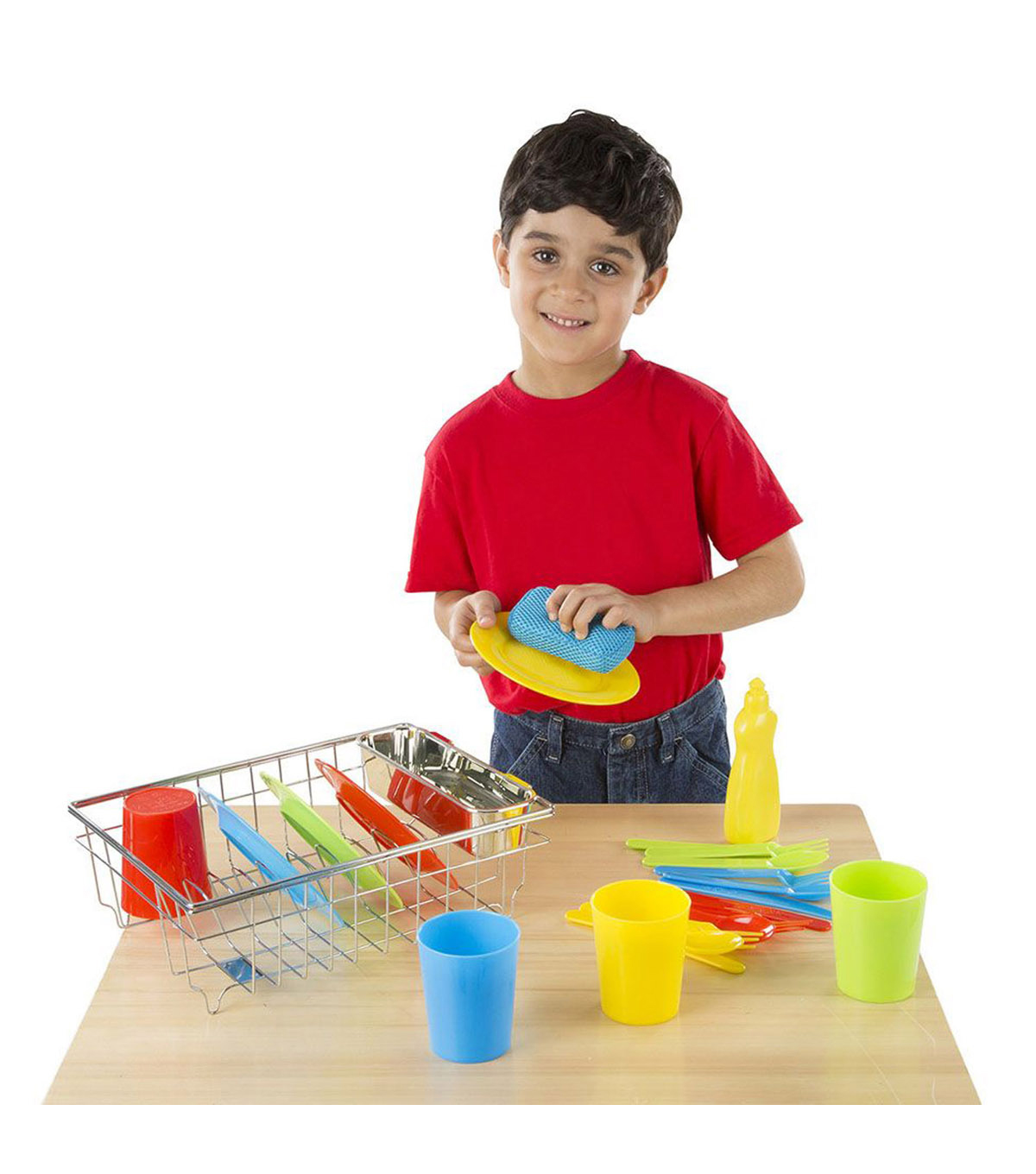 Let\u0027s Play House! Wash & Dry Dish Set