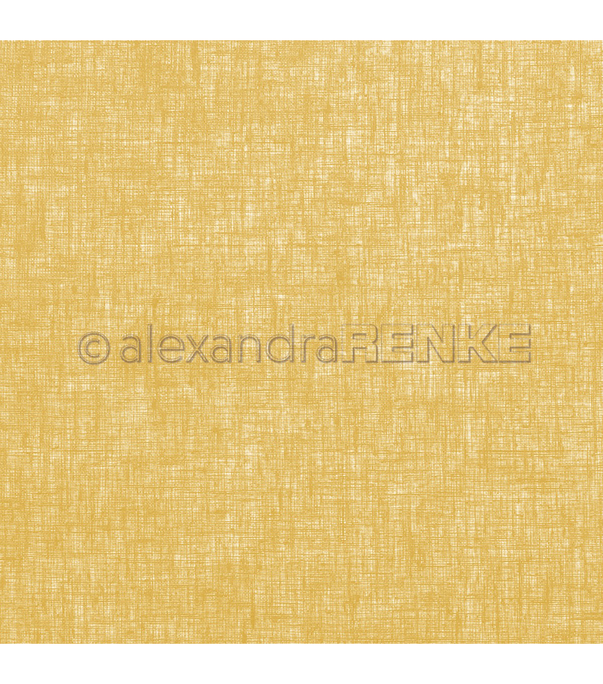 Alexandra Renke Mimi\u0027s Single-sided Cardstock-Linen Mustard Yellow