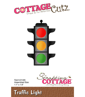 CottageCutz Die-Traffic Light 1.1\u0022X1.8\u0022
