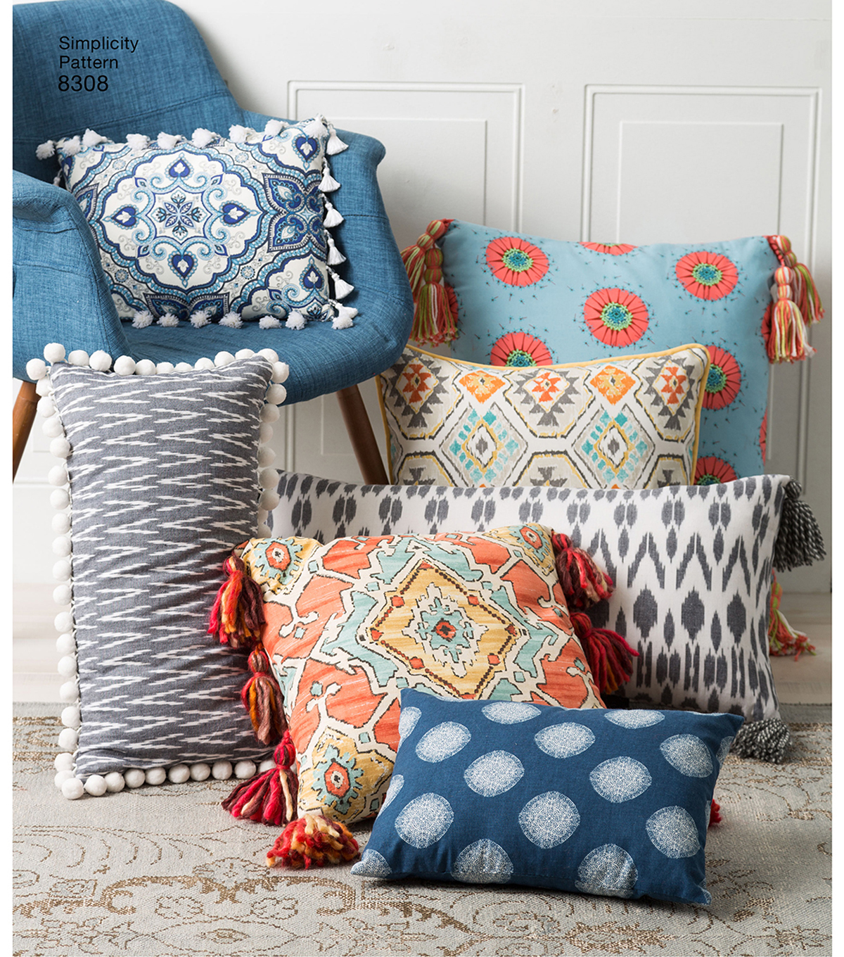 Simplicity Pattern 8308 Pillows
