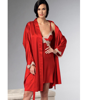 Vogue Pattern V9218 Misses\u0027 Robe, Nightgown & Pants-Size 6-8-10-12-14