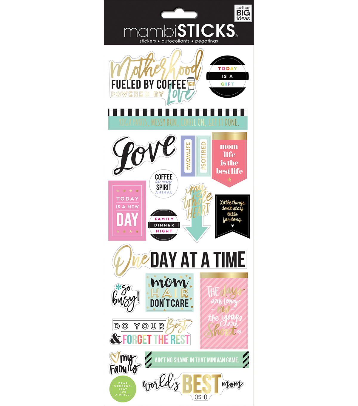 The Happy Planner Specialty Stickers-Motherhood