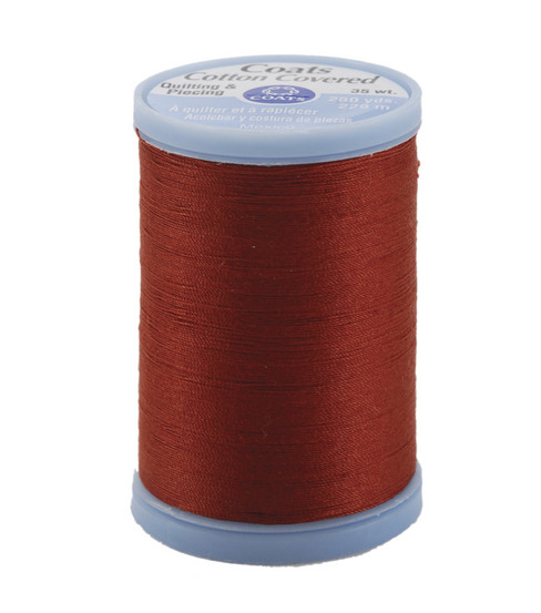 Coats & Clark Cotton Covered Quilting & Piecing Thread 250 Yards , 7820 Rust