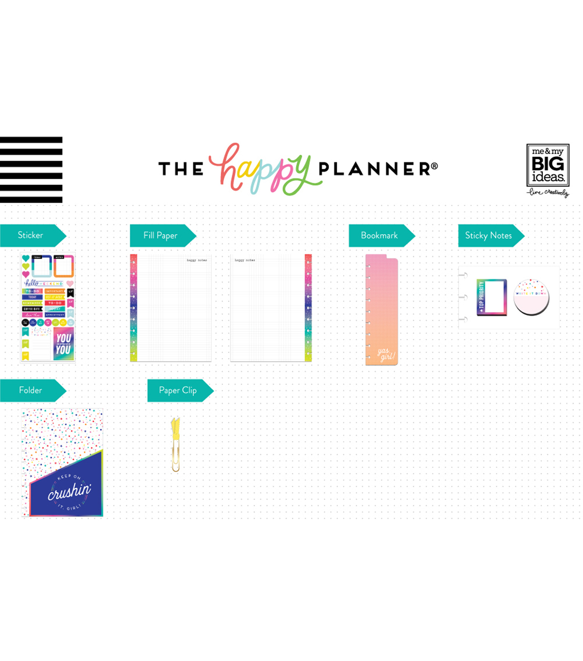 The Happy Planner Accessories Pack-Crushing It
