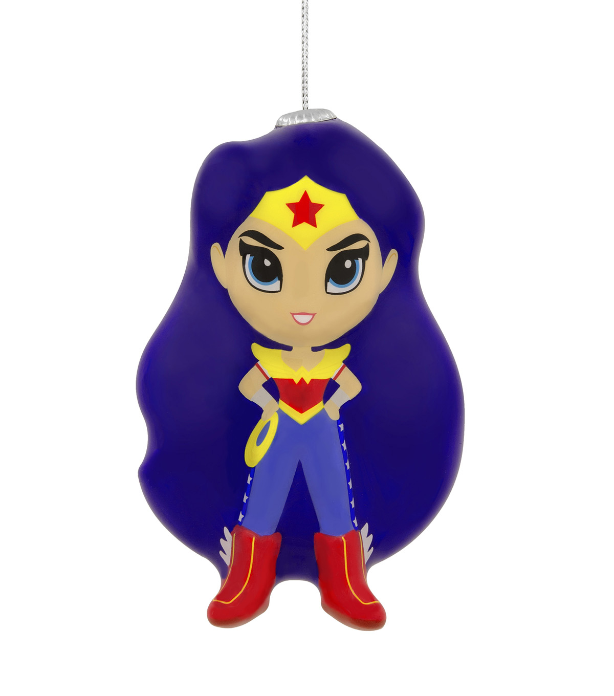 Hallmark Ornament-Decoupage DC Superhero Girl Wonder Woman