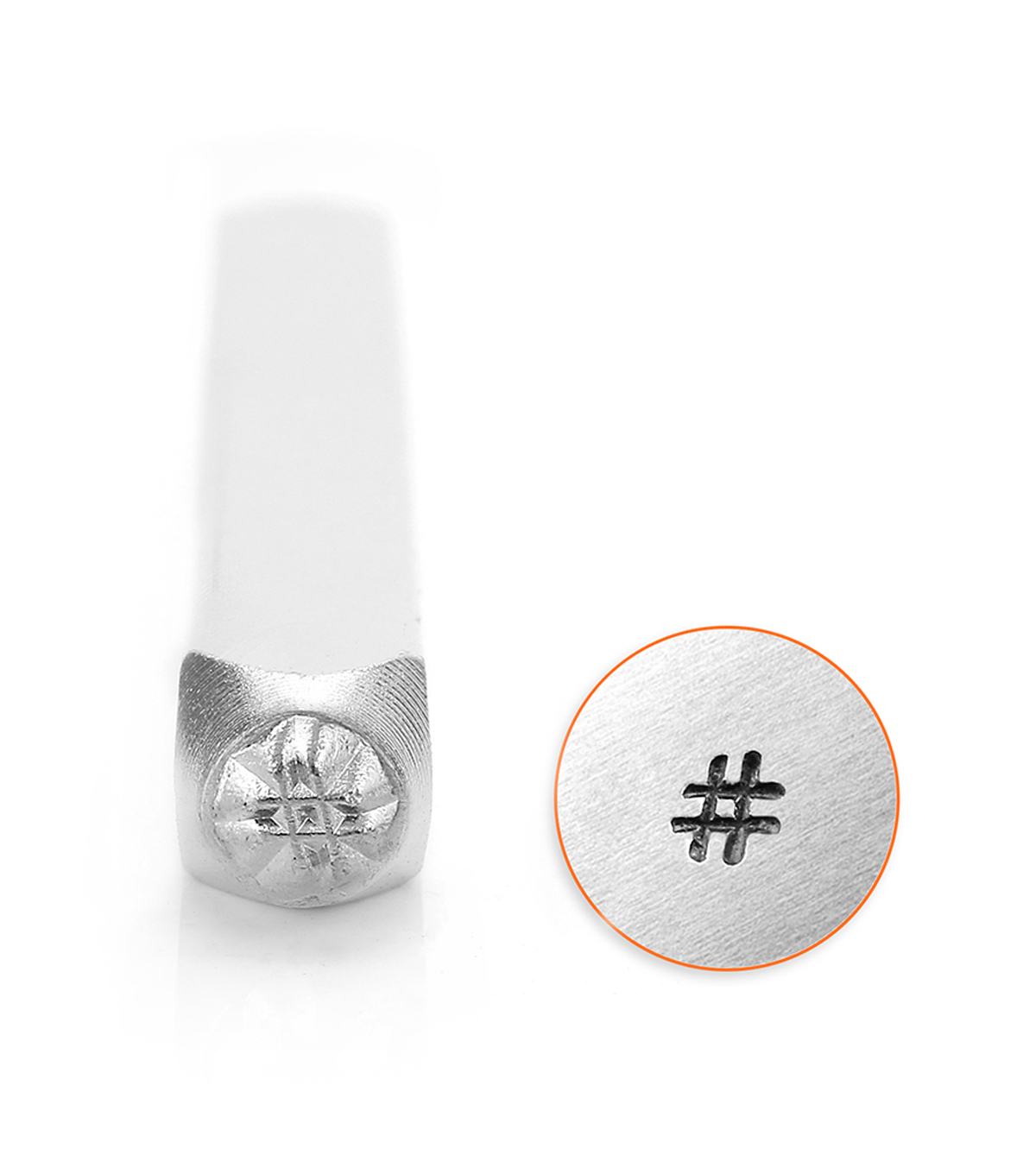 ImpressArt 3mm Stamp Hashtag