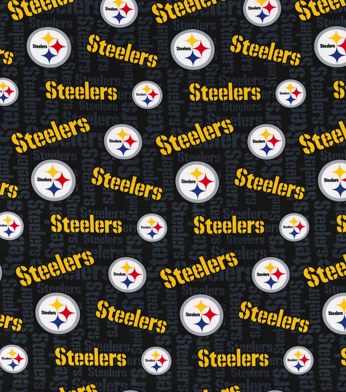Pittsburgh Steelers Cotton Knit Fabric