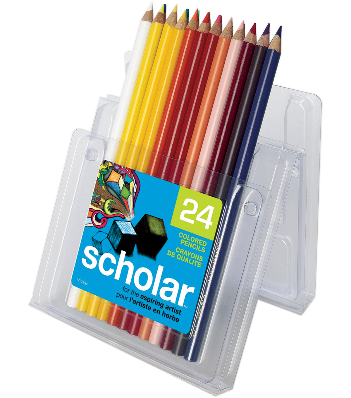 Prismacolor Scholar Colored Pencil Set 24/Pk