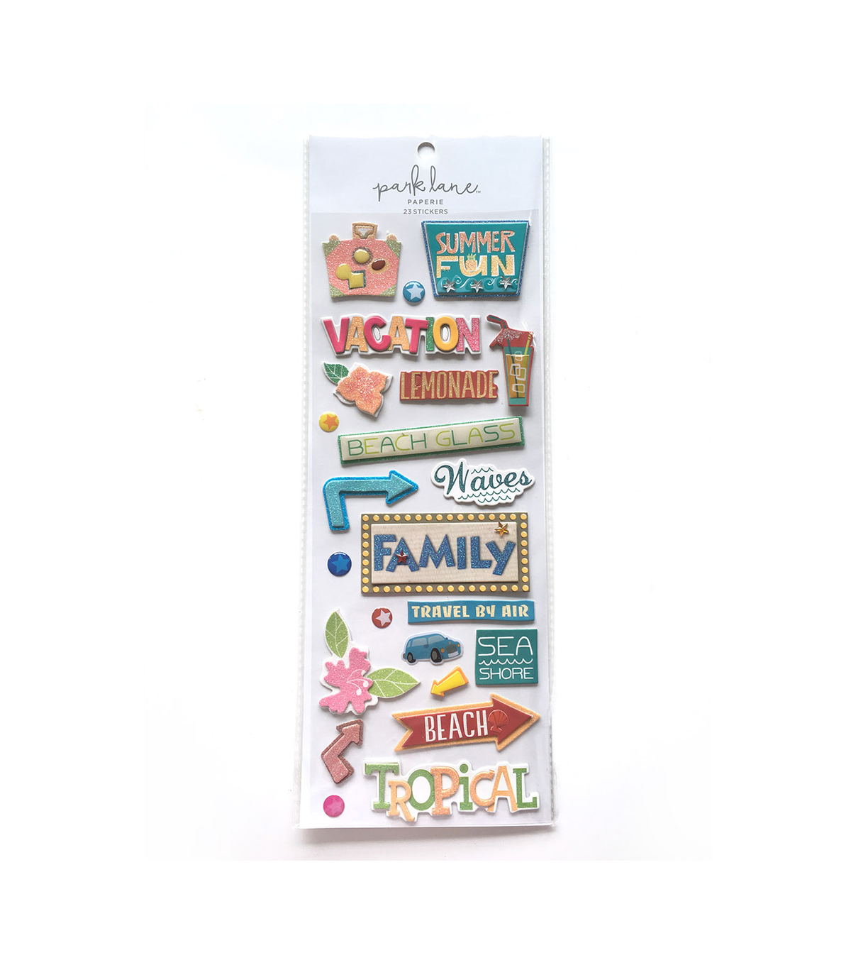 Park Lane Paperie 23 pk Stickers-Vacation