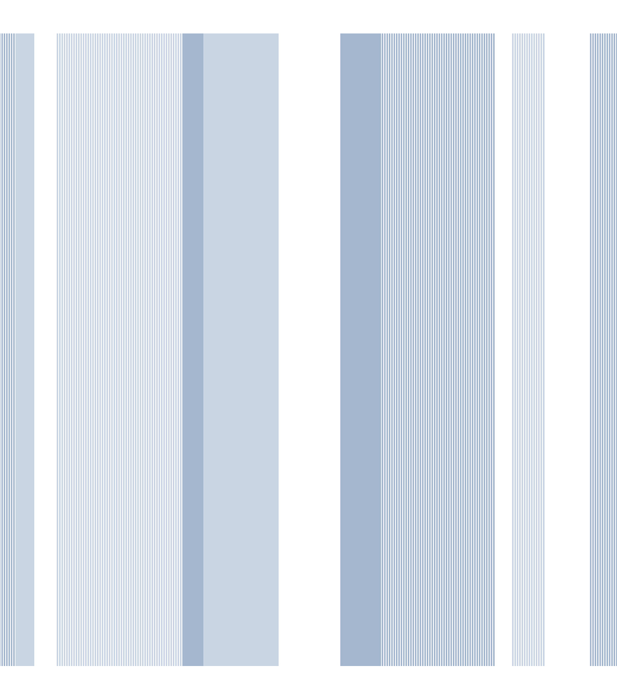 WallPopsNuWallpaperBlue Awning Stripe Peel And Stick Wallpaper