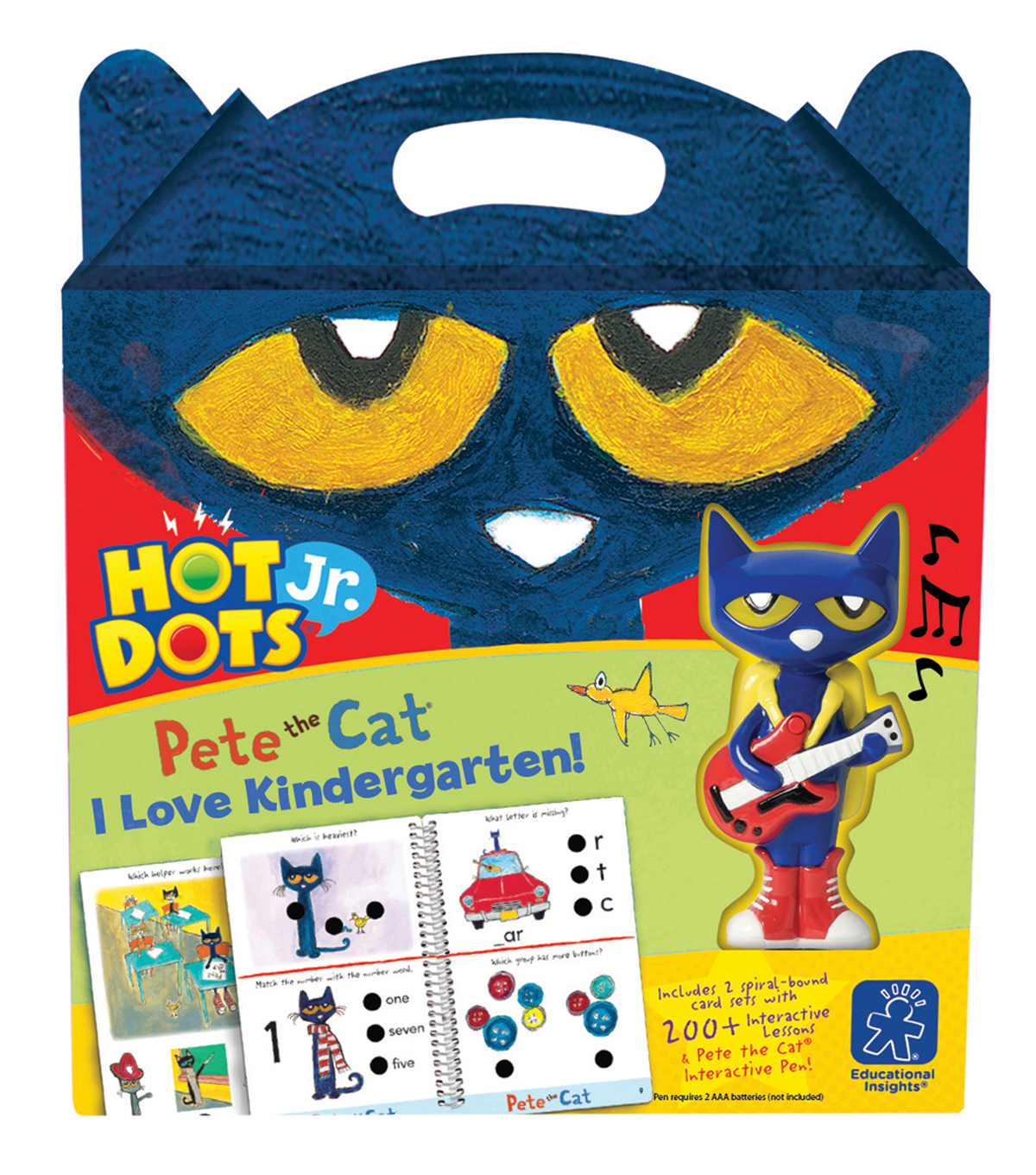Hot Dots Jr. Pete the Cat I Love Kindergarten! Set