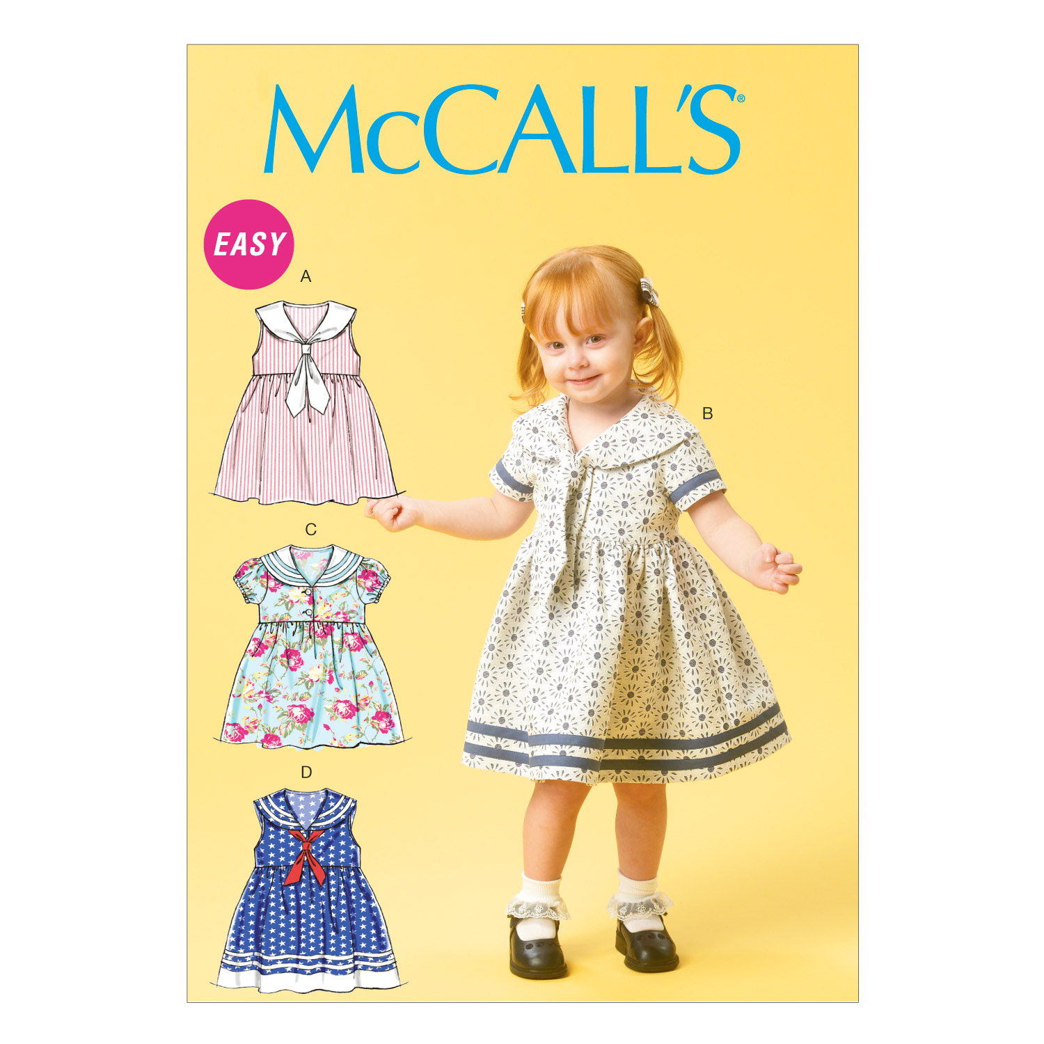 McCall\u0027s Toddler Dress-M6913