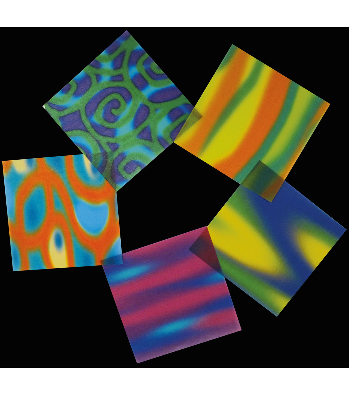 Black Ink 30 Pk 55x55 Vellum Origami Papers Funky Joann