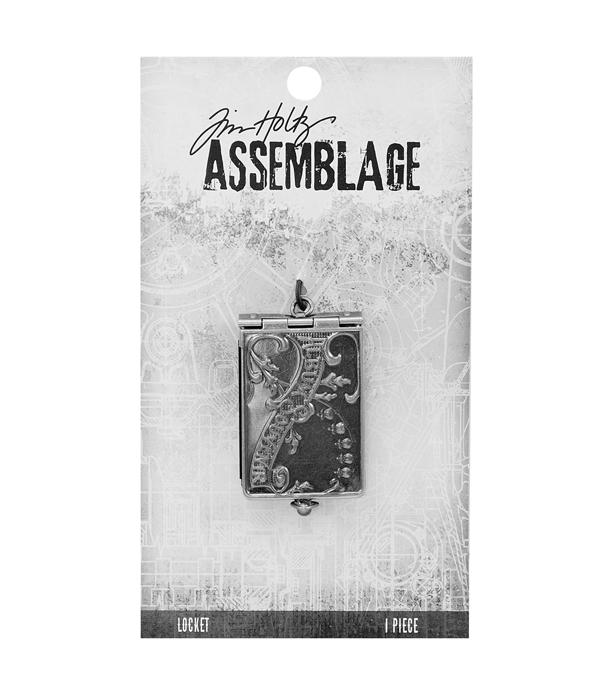 Tim Holtz Assemblage Book Locket