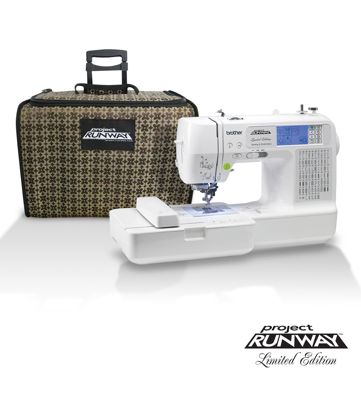 Brother LB6800PRW Sewing & Embroidery Machine | JOANN