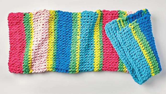 My Loop Yarn Blanket