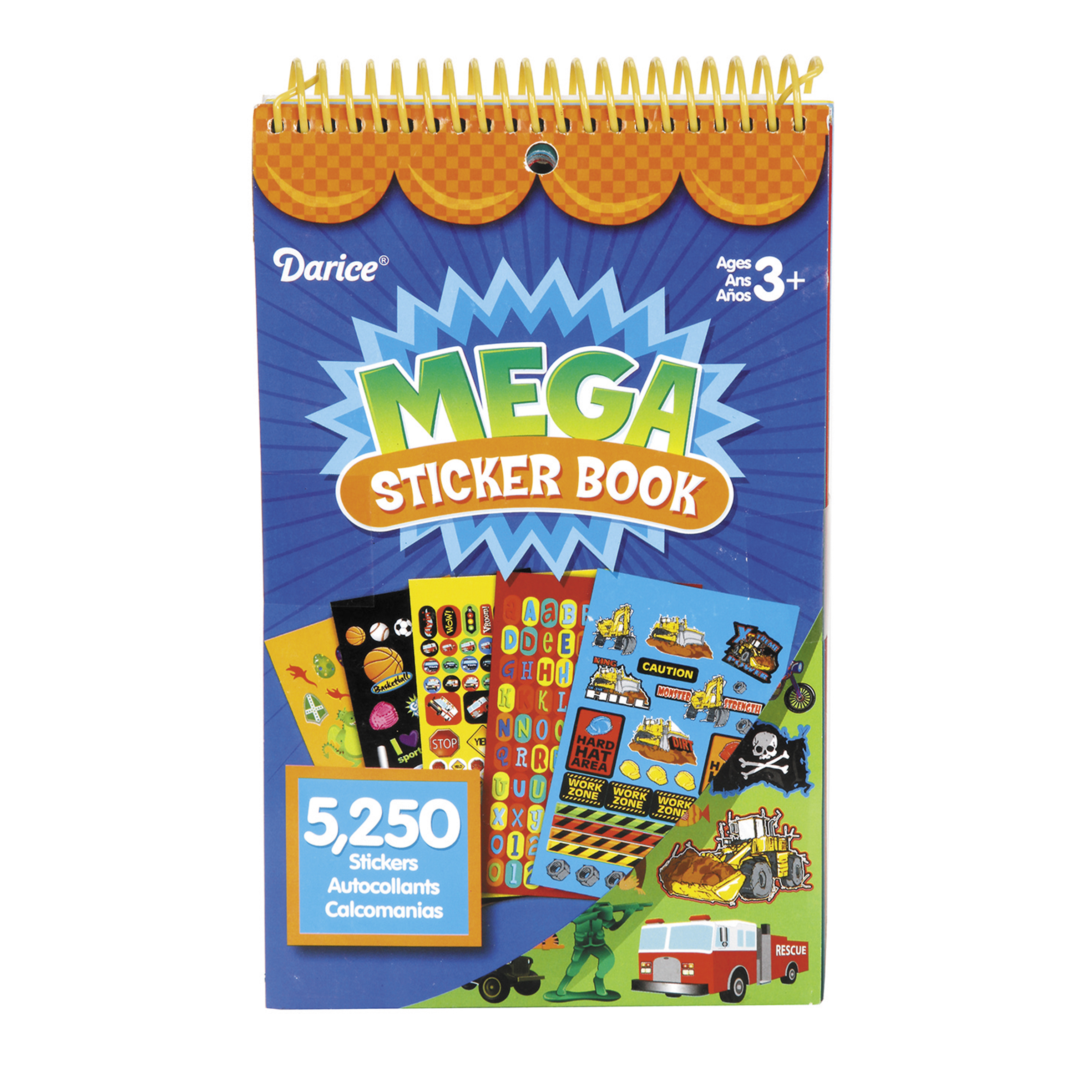 Mega Sticker Book-Boy