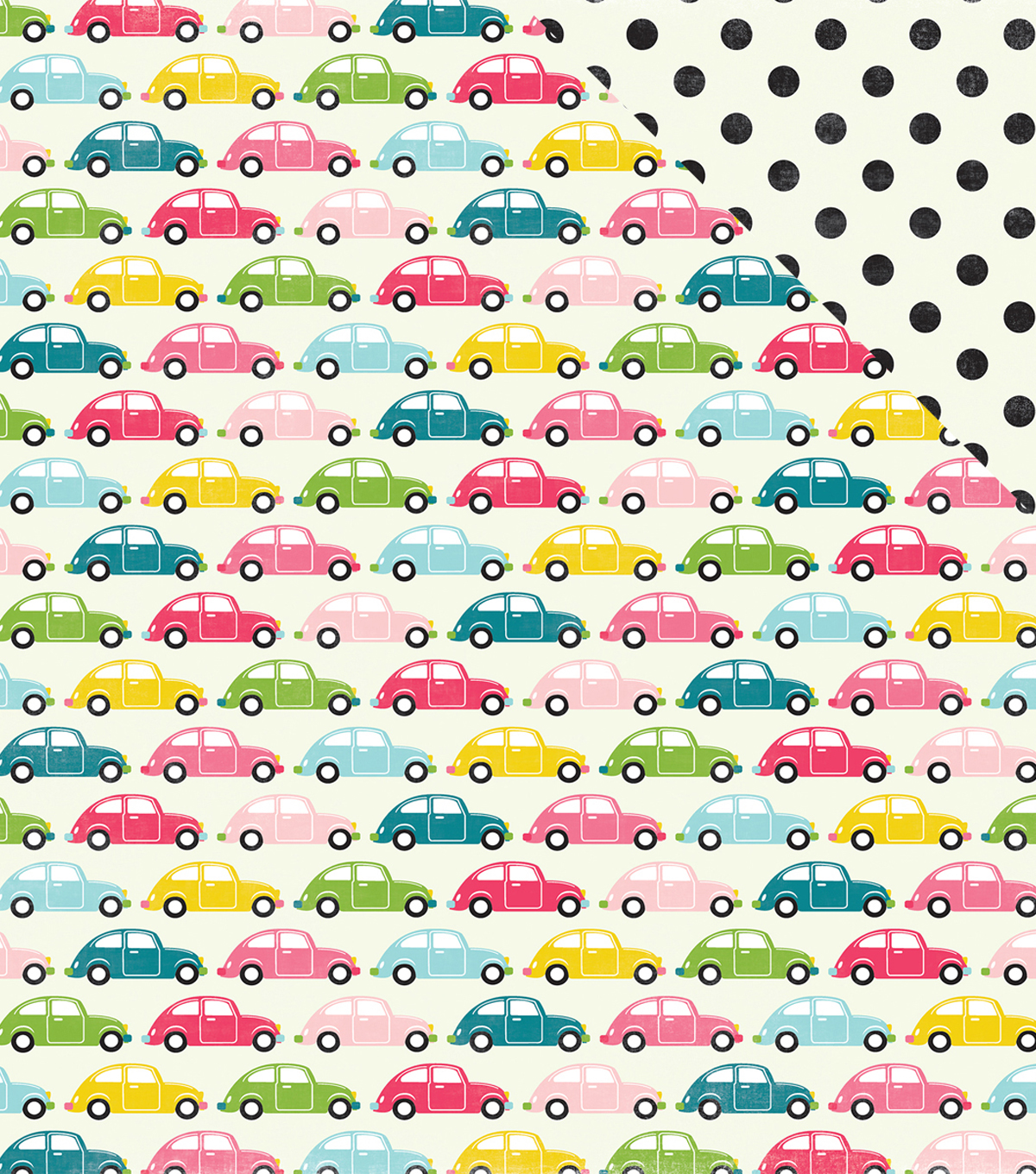 Summer Fun Double-Sided Cardstock 12\u0022X12\u0022-Summer Road Trip