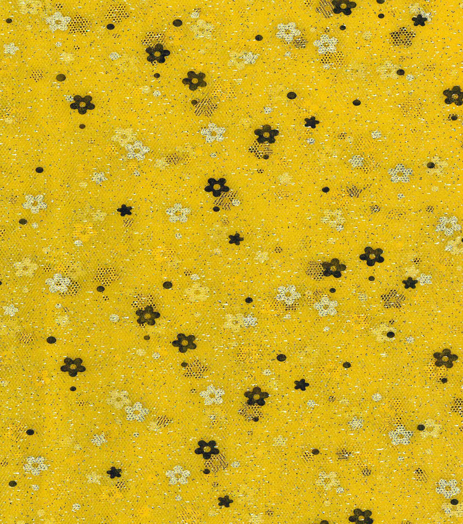 Fashion Mesh Fabric 58\u0022-Sunshine Glitter