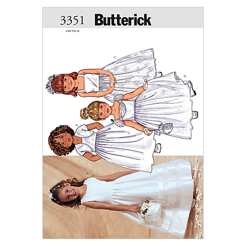 Butterick Child Special Occasion-B3351