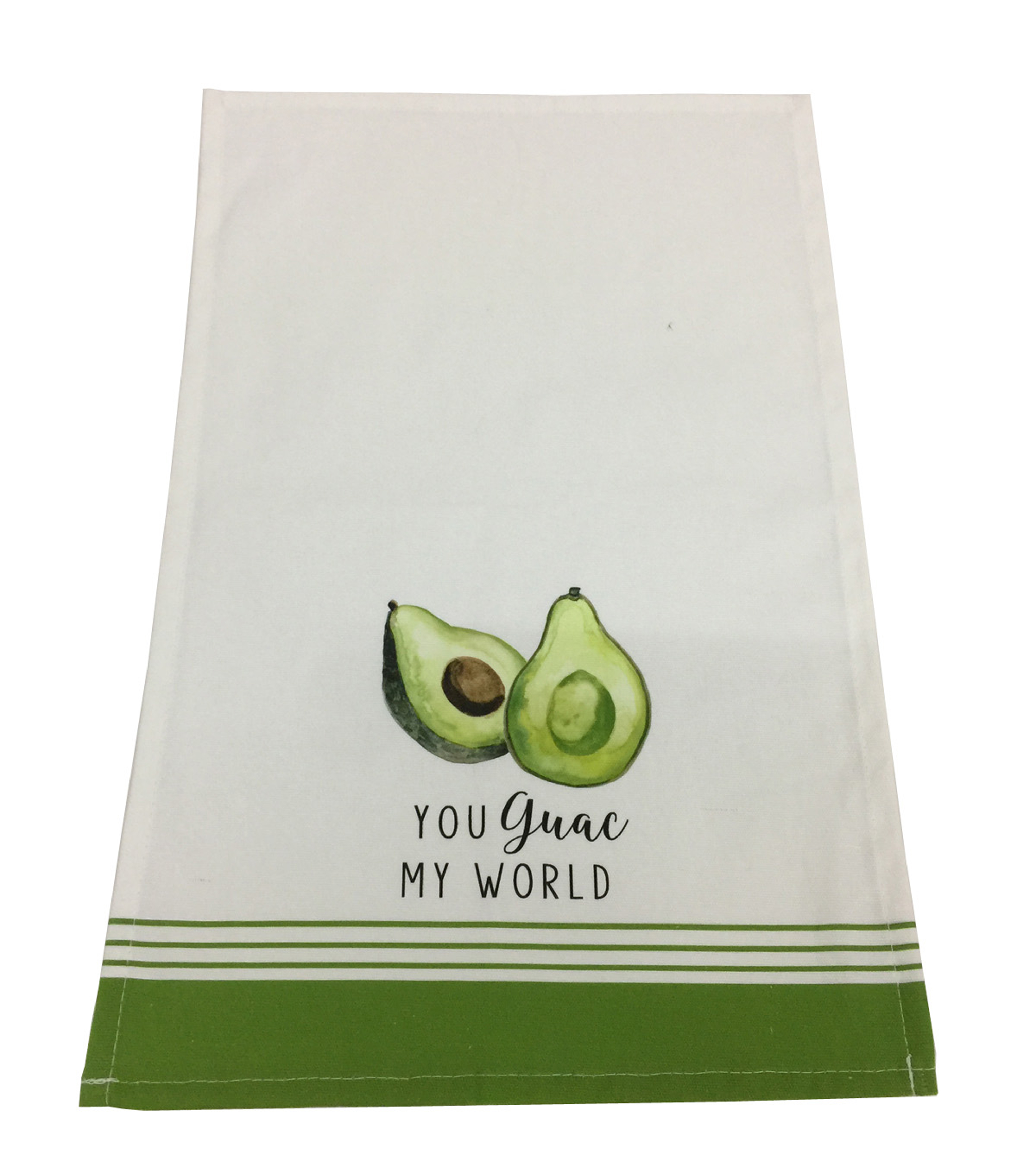 Fresh Picked Spring Kitchen Towel-You Guac My World