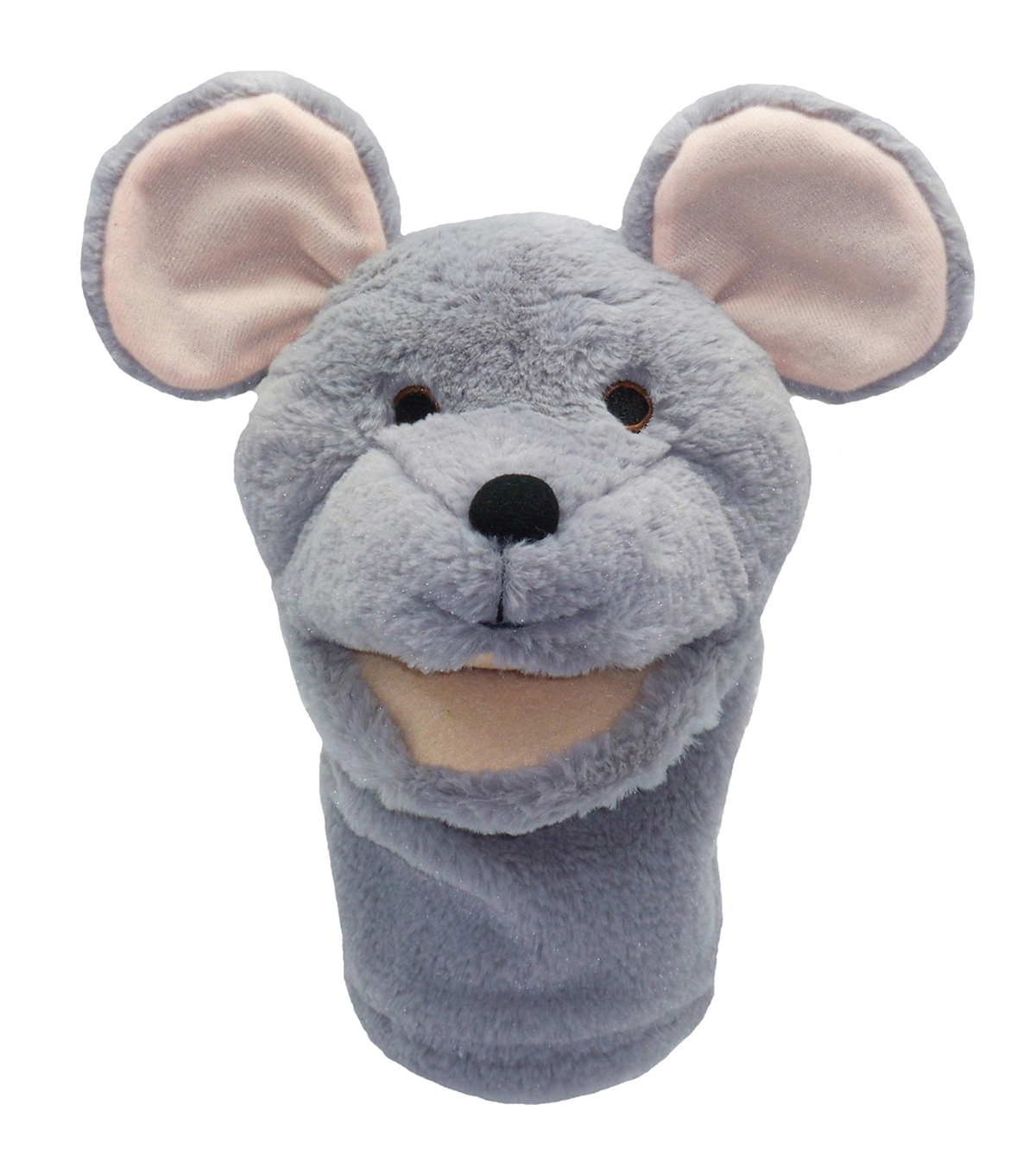 Mouse Bigmouth Puppet, Pack of 2