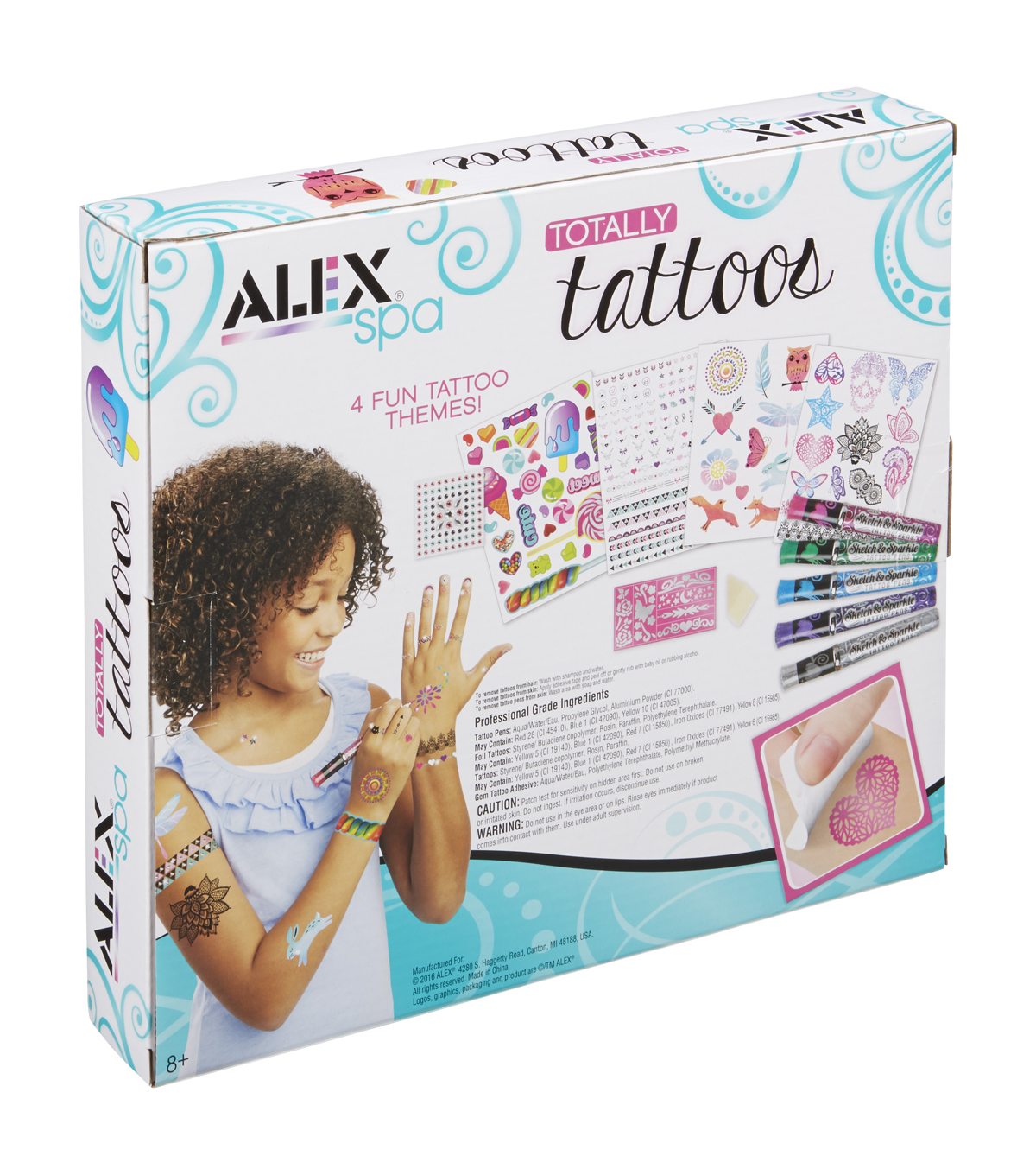 Alex Toys Spa Totally Tattoo Kit