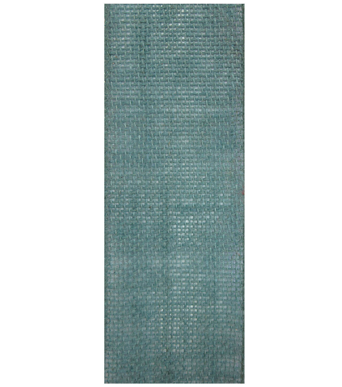 Decorative Ribbon 2.5\u0022 Solid Burlap Ribbon-Teal