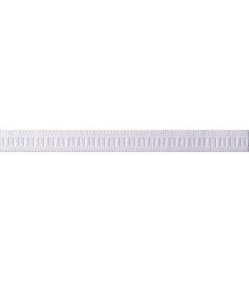 Non-Roll Flat Elastic 1/2\u0022 Wide 50 Yards-White