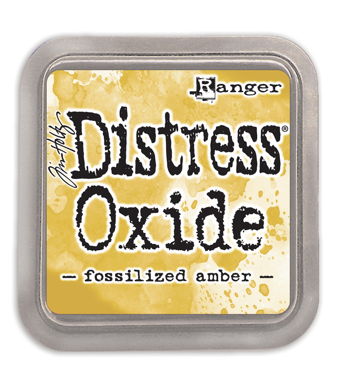 Tim Holtz Distress Oxide Ink Pad, Fossilized Amber