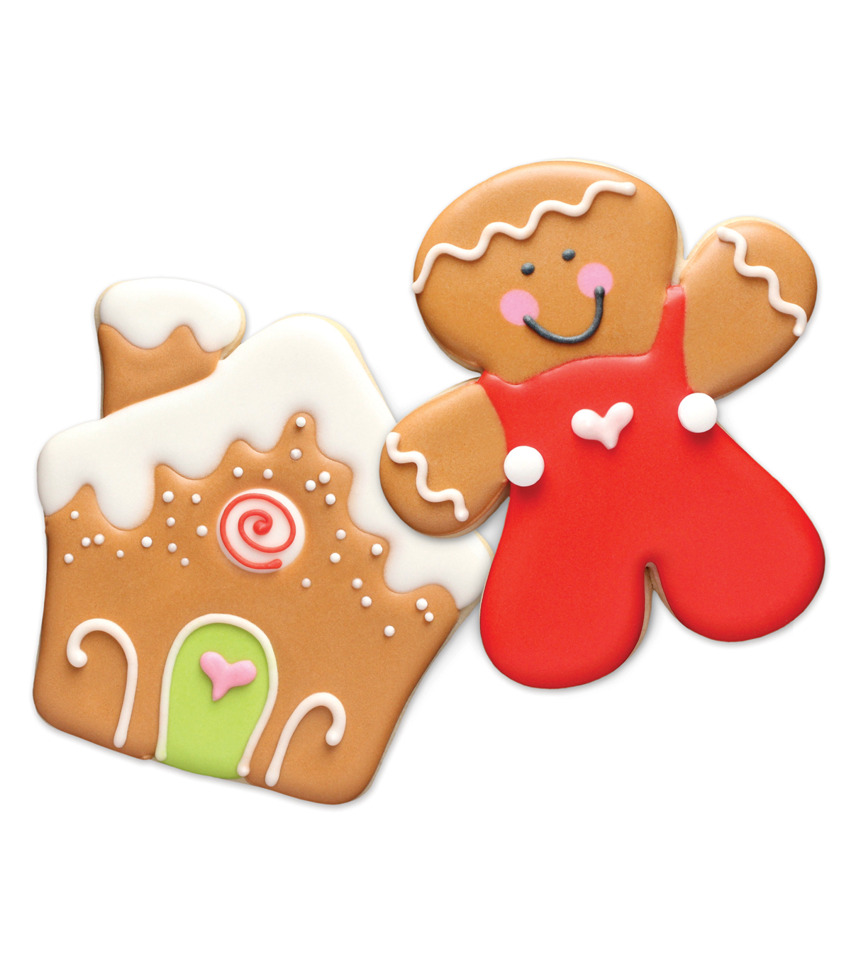 Sweet Sugarbelle Christmas Cookie Cutter Kit Gingerbread